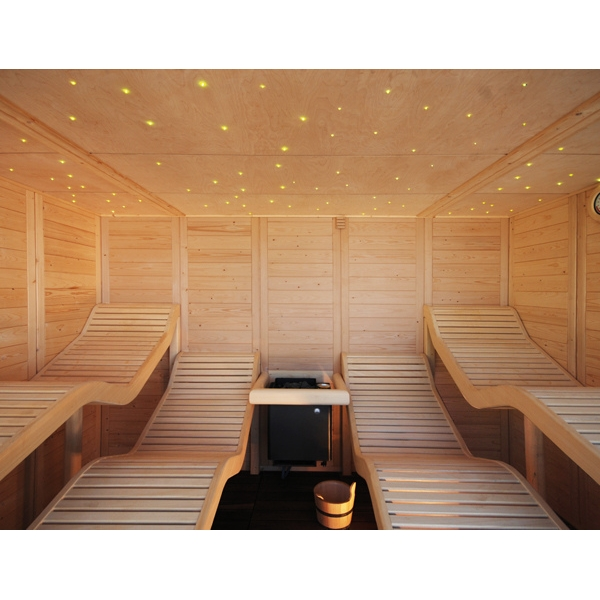 Saunas de exterior o jard n productos the new spas - Productos para sauna ...