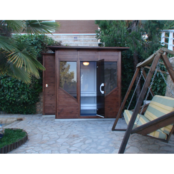 Diseno Baños De Vapor:Cabina para Exterior o Jardín – Productos The New Spas