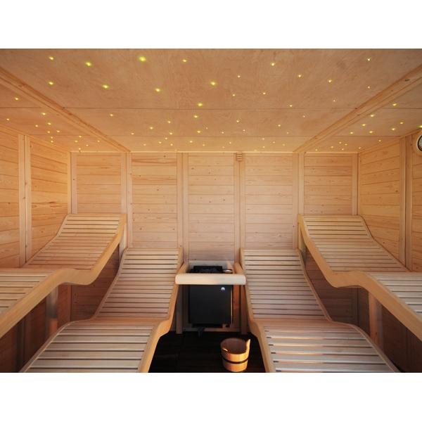 kit sauna exterior a1 agua superior x m. Black Bedroom Furniture Sets. Home Design Ideas